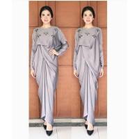 model baju muslim gamis terbaru dan modern KAFTAN LUPITA PERMATA