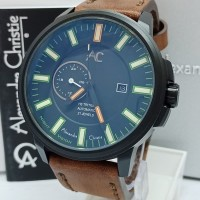 jam tangan pria Alexandre Christie Original AC 9202 MA DBWBLGR