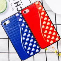 Softcase TPU Hard Soft Motif Triangle Cover Case Casing HP Vivo Y65