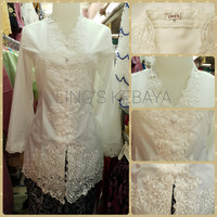 Kebaya Broken White Cotton