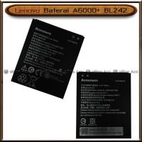 Baterai Lenovo A6000+ A 6000 A6000 Plus BL242 BL 242 Original Batre