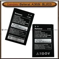Baterai Lenovo A369i A 369 i BL203 BL 203 Original Batre Batrai