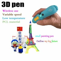 MURAH Wireless 3d Pen 3D Printing Printer Pen LowTemperature 3D Pens