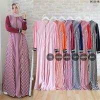 Baju Gamis Wanita Liniya - Dress Muslim Gamis Syari Modern Model Ter