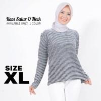 Harga tania top xl baju kaos lengan panjang wanita muslim gamis sweater  df87d8bcfe