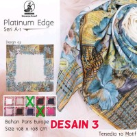 Hijab Segiempat Umama Platinum Edge Paris Europe