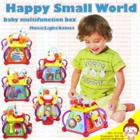 Mainan Bayi Happy Small World (Joy Box) 15In1- Mainan Edukatif
