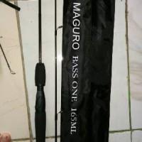 STOK TERBATAS joran maguro bass one 165cm Murah