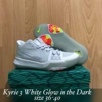 Sepatu Basket Nike Kyrie 3 White Glow In The Dark
