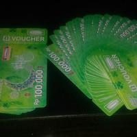 Voucher Indomaret 100 Ribu