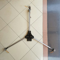 TRICOPTER bahan Aluminium, weight 379.5 Gram.
