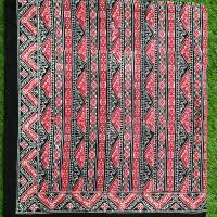 Bahan Batik Asli Medan Merah Ukuran 2M Berkualitas - Zallatra M2U