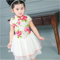 Dress Cheongsam Baju China Imlek Gaun Pesta Anak Import Murah
