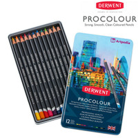 Derwent Procolour Pencils Set 12 / Procolor Pensil