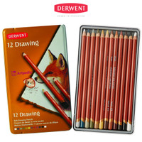 Derwent Drawing tin set 12 / Pensil Derwent