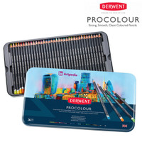 Derwent Procolour Pencils Set 36 / Procolor Pensil