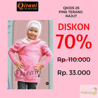 Baju Atasan Anak Qirani Kids 26 Pink Uk. 5 Atasan Anak Baju Anak Bus