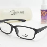 frame kacamata minus pria wanita baca anti radiasi puma kaca mata