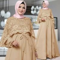 Maxi Olivia Cape Serut Jambon gamis muslim cantik