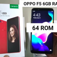 Oppo F5 Pro Ram 6GB
