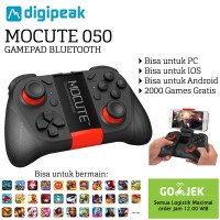 MOCUTE 050 VR Game Pad Android Joystick Bluetooth Controller - Hitam