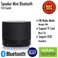 Speaker Bluetooth My Crystal S10