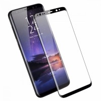 Samsung S9 S 9 2018 Tempered Glass 3D Full Covered Anti gores Kaca