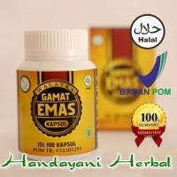 Obat Herbal Parkinson - Walatra Gamat Emas Kapsul