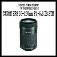LENSA KAMERA DSLR CANON EFS 55-250mm 55-250 F4-5.6 IS STM