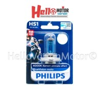 Best Seller Lampu Bohlam Philips Blue Vision HS1 H4 Original