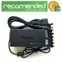 AC Adapter Laptop Universal Plug 96W - Hitam