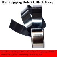 Ikat Pinggang Hole XL Black Glosy