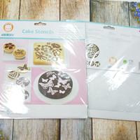 Cake stensil / alat untuk hias cake dan kopi