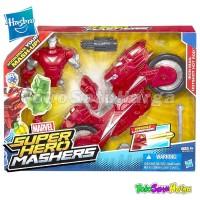 Mainan Marvel Hasbro Iron Man Avenger SuperHero Mashers A8015 Original