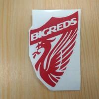 Stiker Bigreds Liverpool Logo Club Bola Fans Sticker Liverbird Klub