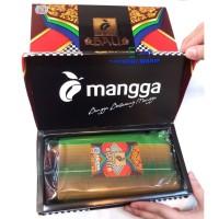 Sarung Tenun Mangga Gold Bali - Halus Murah (Motif Kombinasi)