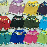celana pendek anak perempuan / hotpants / short pants celana lobo