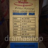 MURAH KIPAS ANGIN HISAP, EXHAUST FAN MASPION MV-300 NEX