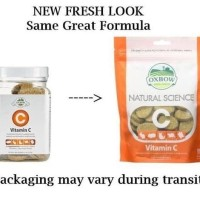 Oxbow Natural Sciense Vitamin C 60ct Vitamin Marmut Kelinci Guinea Pig