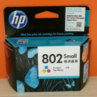 HP Cartridge 802 Colour/TInta Printer HP 802 Warna