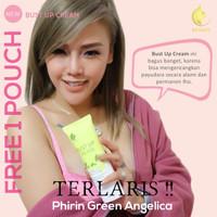 Pembesar & Pengencang Payudara Green Angelica Bust Up Cream AMPUH BPOM