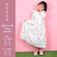 Baju Lebaran Gamis Anak Cewek Model Baru Bahan Halus Adem