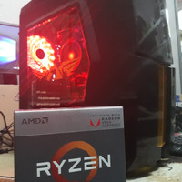 CPU / PC GAMING RAKITAN AMD RYZEN 3 2200G + RAM 8GB DDR4 + HDD 1TB