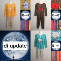 Termurah Baju Tidur Kaos bordir/Baby doll/Piyama/Stelan Dewasa PP