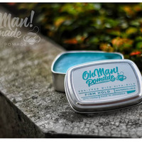 Pomade OHMAN!-OH Man!Nutri Blue Firm Hold waterbased 85gr-Free sisir