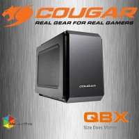 COUGAR QBX - Ultra-Compact Pro Gaming Mini-ITX Case