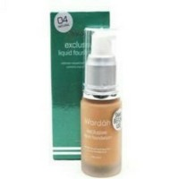 WARDAH EXCLUSIVE LIQUID FOUNDATION- 04/ NATURAL 20 ML make up m