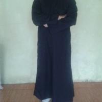 GAMIS SYARINI gamis jubah pria warna hitam