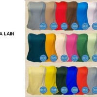 Baju batik wanita bustier/ kamisol/ dalaman kebaya bahan satin & tali