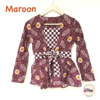 TERBARU PROMO Baju Batik Modern Wanita / Batik Lengan Panjang / Batik